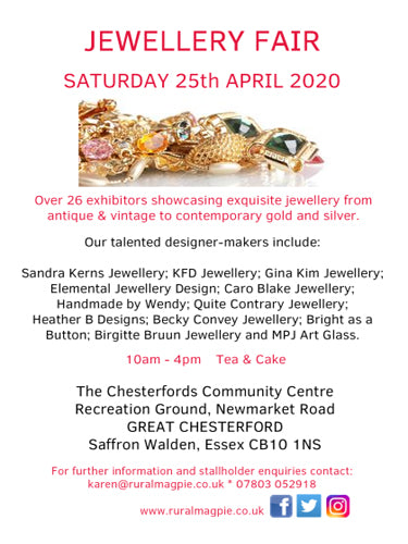 Gt Chesterford April Jewellery Fair
