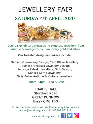 Gt Dunmow April Jewellery Fair