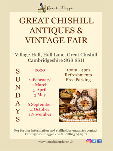 Great Chishill Antiques & Vintage Fairs