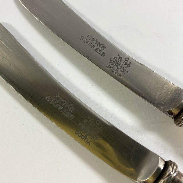 Two Firth's Stainless Scotia Butter Knifes