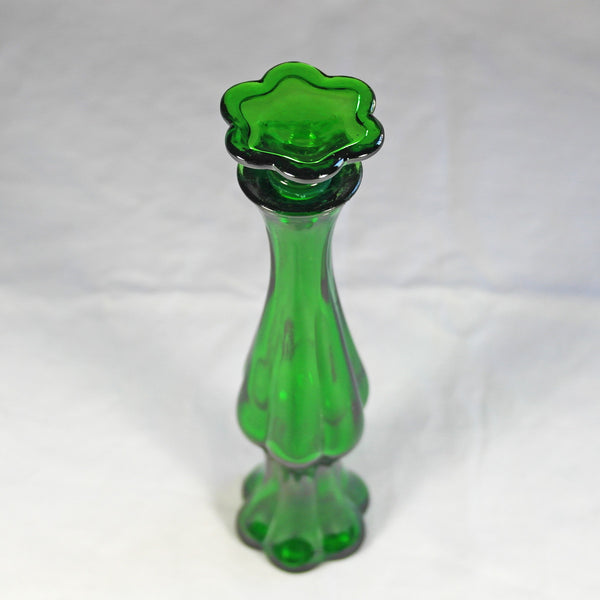Emerald Green Perfume Bottle