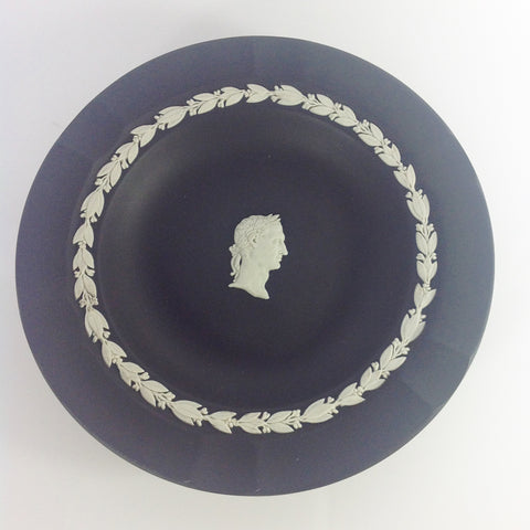 Wedgwood Black Jasper Ware Ashtray