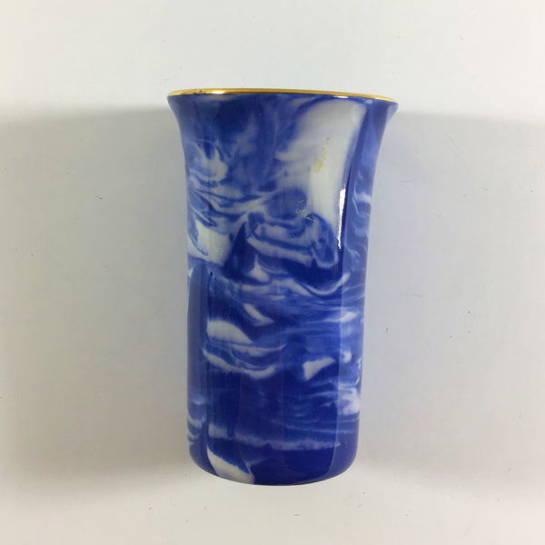 Sutherland Bone China Delphinium blue bud vase