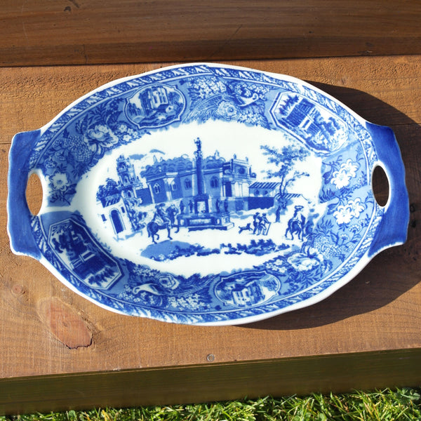 Blue & White Small Size Platter