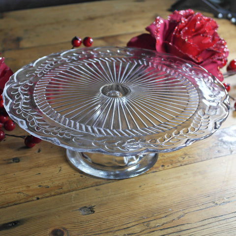 Pedestal Glass Cake Stands