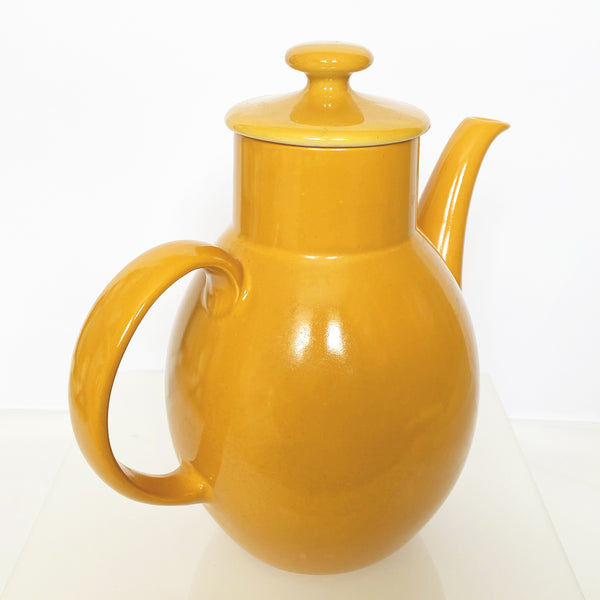 Orange Retro Coffee Pot