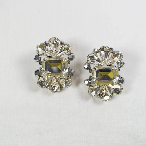 Statement Crystal Stud Earring