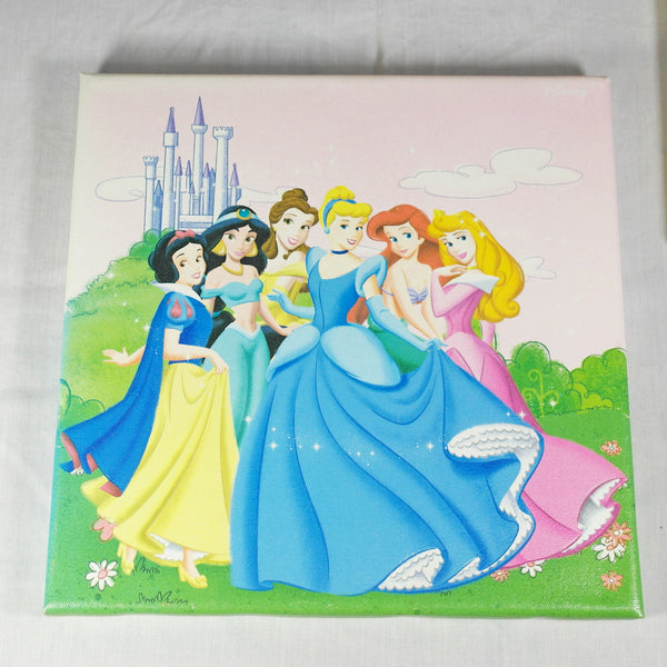 Disney Princess Set of Four Canvas Prints