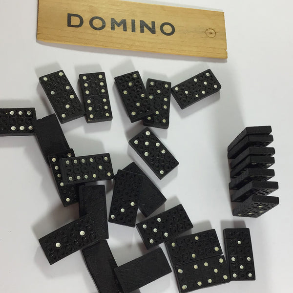 Domino Set in Wooden Box
