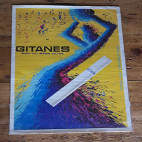 Gitanes 1965 French Poster
