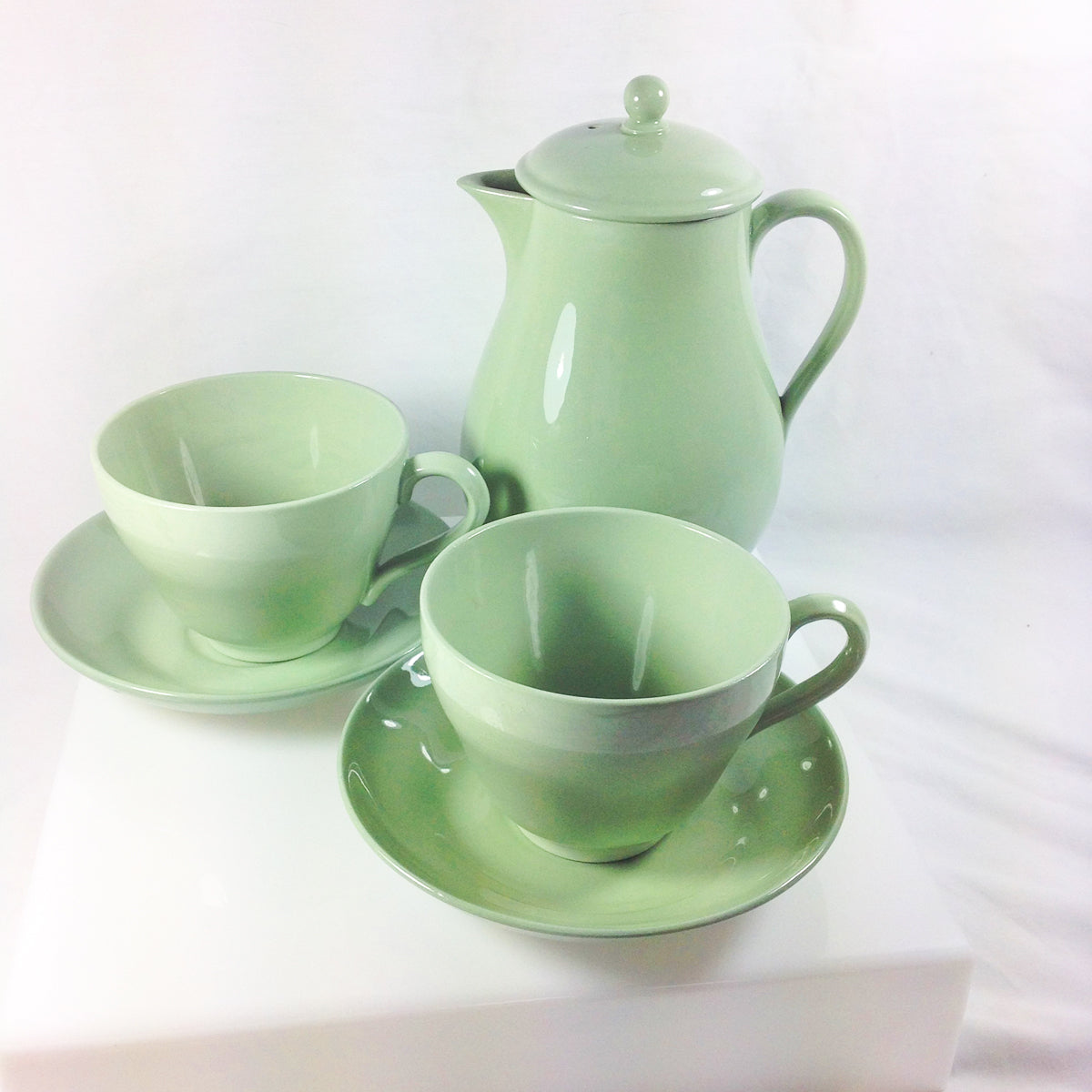 Wedgwood of Barlaston and Etruria Celadon Ceramics