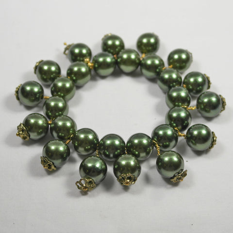 Green Pearlised Bracelet
