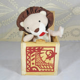 Lion Jack in the Box Wooden Toy