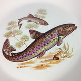 Lord Nelson Brown Trout Plate