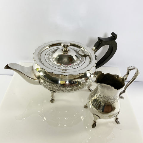 Mappin and Webb Teapot and Creamer