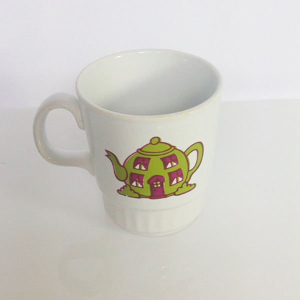 Retro Mr Men Mug Featuring Mr Funny