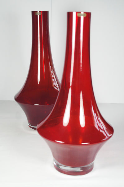 Riihimaki / Riihimaen Ruby Red Art Glass