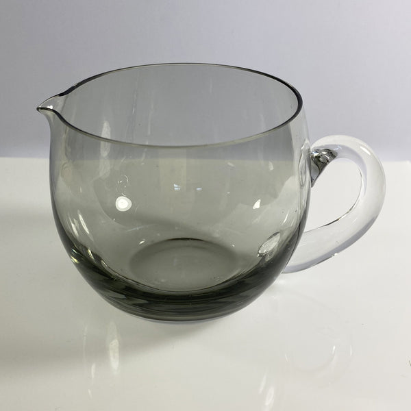 Roly Poly Smoked Grey Glass and Jug