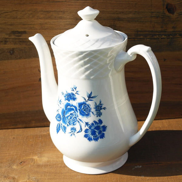 Blue & White Coffee Pot