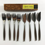 Sipelia De Luxe Fish Knives and Forks