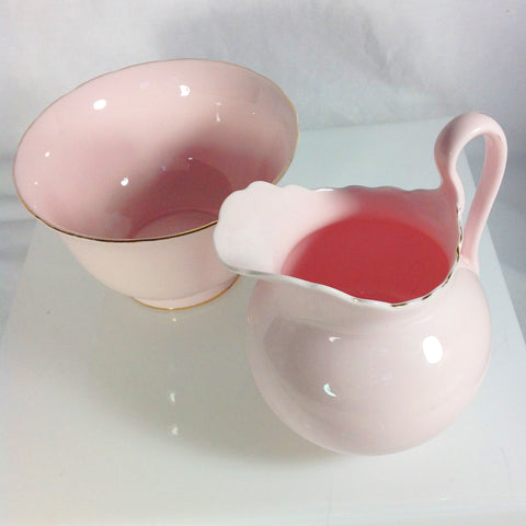 Royal Tuscan Fine Bone China Milk Jug and Sugar Bowl