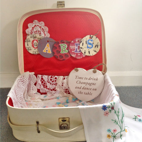 Vanity Case Wedding Cards Box