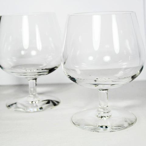 Two Wedgwood Brandy Glasses