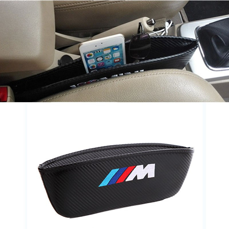 Car Seat Gap Pocket Catcher Organizer  M Audi Toyota bmw - Addict Gear
