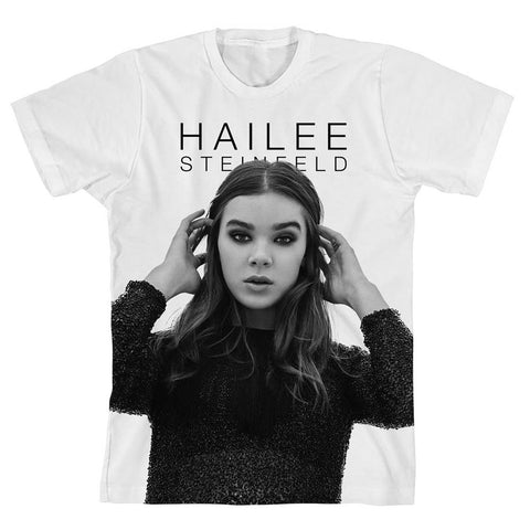 Haiz in B&W T-shirt