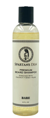 BARE BEARD SHAMPOO - 8 oz.