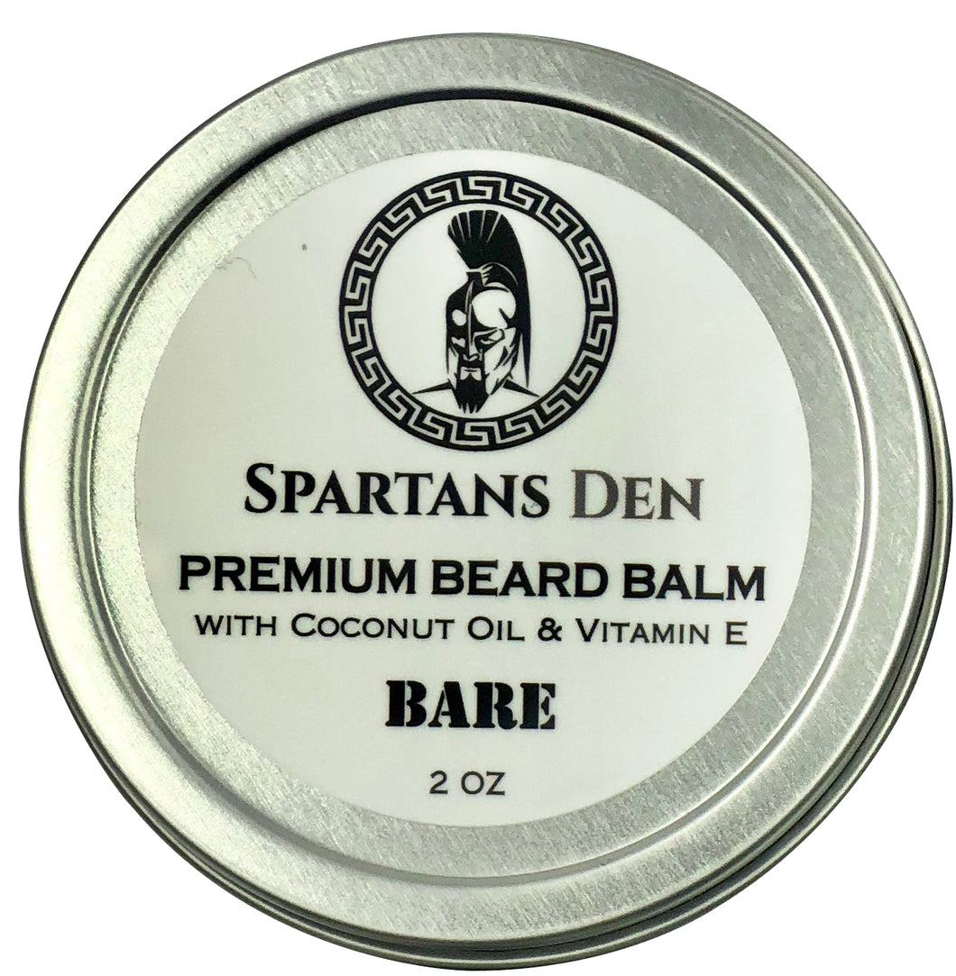 BARE BEARD BALM - 2 oz.