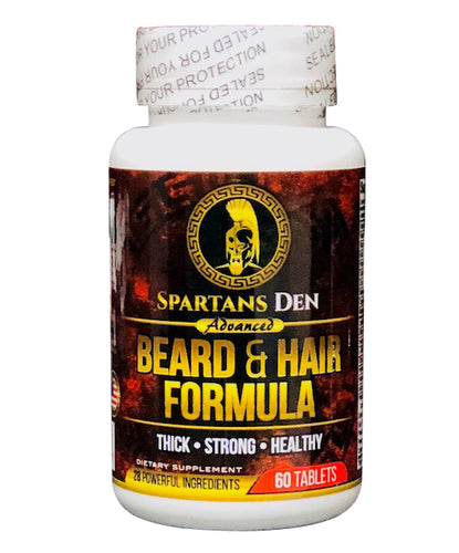 ADVANCED BEARD & HAIR SUPPLEMENT