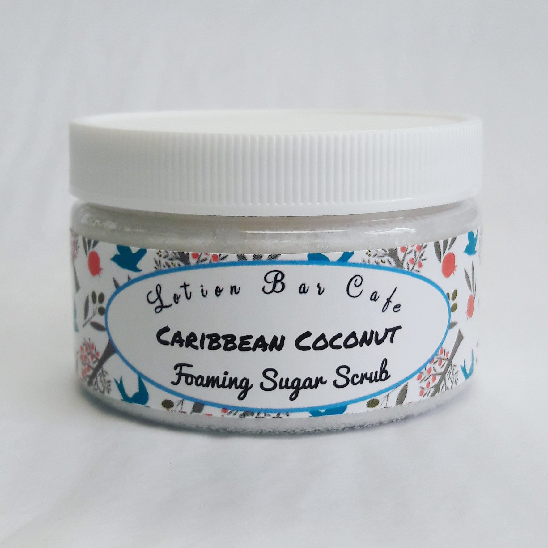 Caribbean Coconut Foaming Sugar Scrub