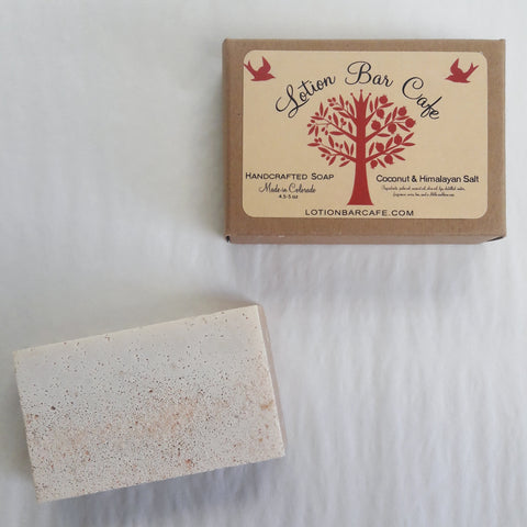 Coconut & Himalayan Salt Soap