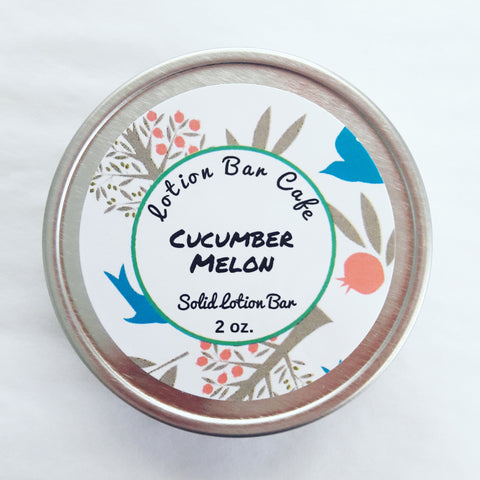 Cucumber Melon Solid Lotion Bar