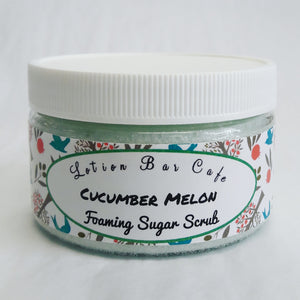 Cucumber Melon Foaming Sugar Scrub