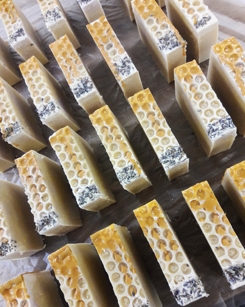 Honey Lavender Soap