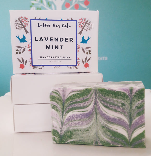 Lavender Mint Handcrafted Soap
