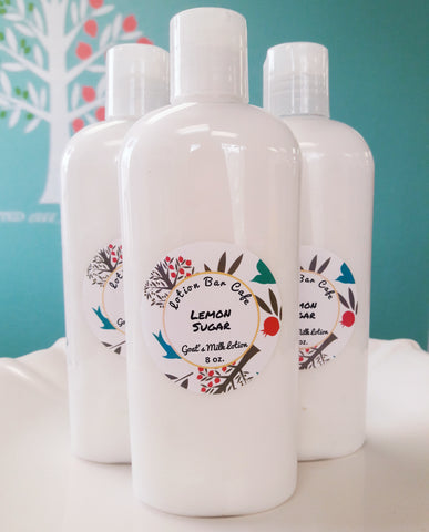 Lemon Sugar Goat's Milk Lotion