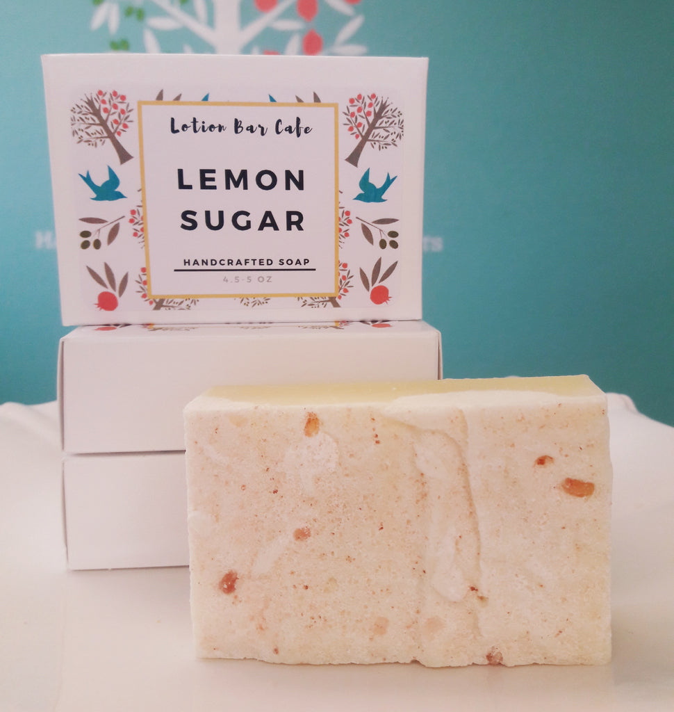 Lemon Sugar Soap