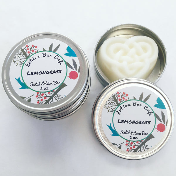 Lemongrass Solid Lotion Bar