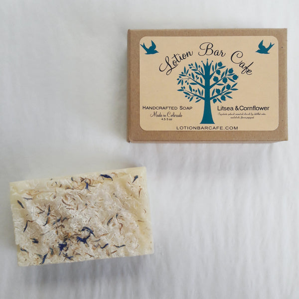 Litsea & Cornflower Soap