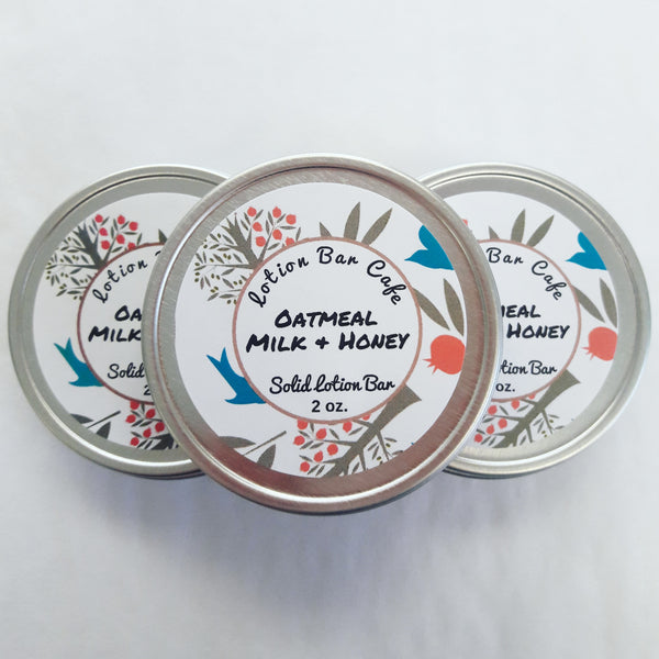 Oatmeal Milk And Honey Solid Lotion Bar
