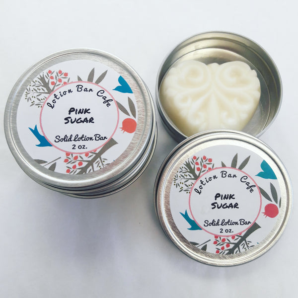 Pink Sugar Solid Lotion Bar