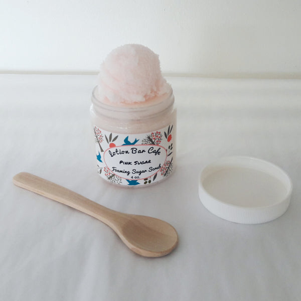Pink Sugar Foaming Sugar Scrub