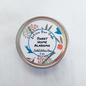 Sweet Home Alabama Solid Lotion Bar