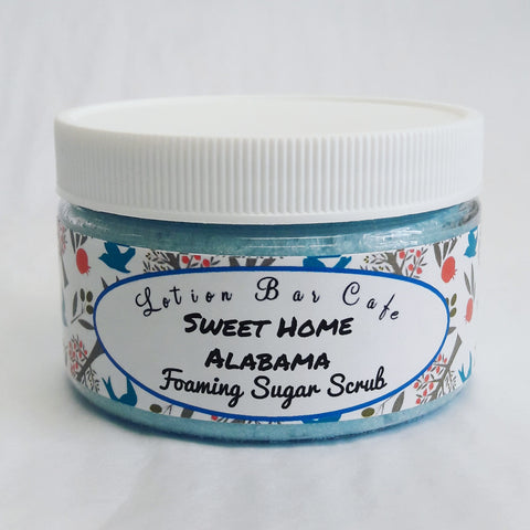 Sweet Home Alabama Foaming Sugar Scrub