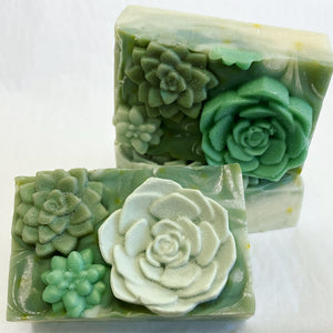 Summer Succulent Soap