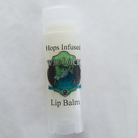 Winter Warlock Beer Lip Balm