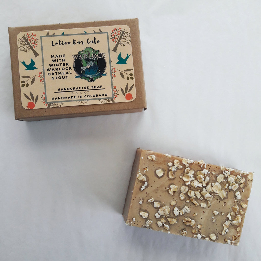 Winter Warlock Beer Soap